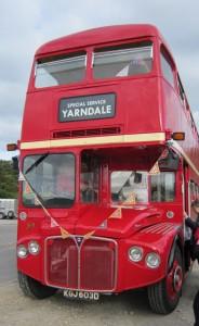 a yarndale bus